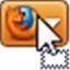 Movable Firefox Button icon