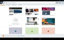 Firefox on Android Tablet