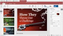 Desktop Editors on Windows 10 (Presentation editor)
