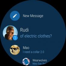 Telegram Android Wear #1