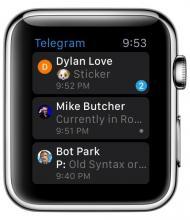 Telegram Apple Watch #1